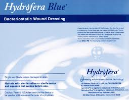 Hydrofera Blue Dressings
